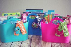 Summer Craft Buckets