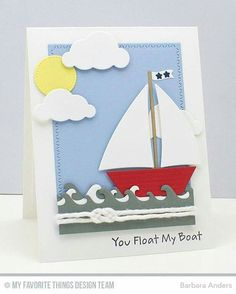 382 best cards nautical sailing mft images on pinterest baby cards