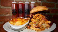 Slows BBQ makes a fantastic succulent Yardbird Sandwich in Detroit.