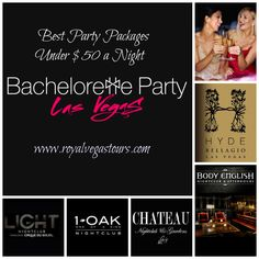 Check out these Vegas Bachelorette Party Packages!    #VegasBachelorette #BacheloretteParty #BestBacheloretteParty