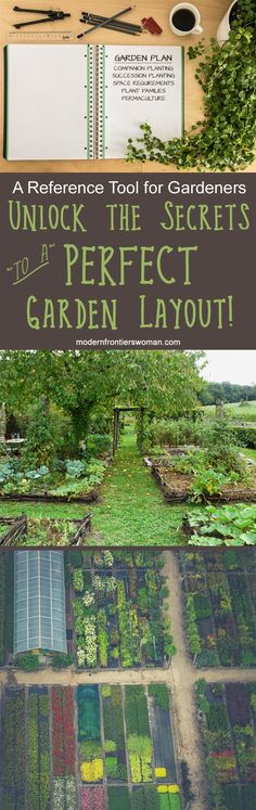 Unlock the Secrets to a Perfect Garden Layout! (A Reference Tool for Gardeners) - Garden Care, Garden Design and Gardening Supplies The Secret Garden, Succession Planting, Companion Planting, Planting Vegetables, Growing Vegetables, Growing Tomatoes, Garden Care, Garden Bed, Garden Soil