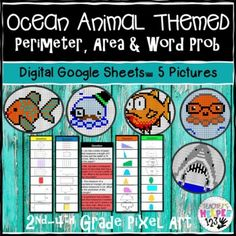 Math Games, Math Activities, Mathematics Games, Animal 2, Word Problems, Math Resources, Pixel Art, Education, Words