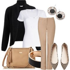 """""""Weekend ~ Lunch with Friends"""" by annabouttown on Polyvore"""