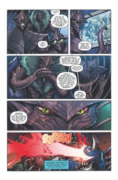Godzilla Rulers of Earth issue 7 - pg 6 by KaijuSamurai (Matt Frank)