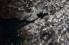 Halifax, Nova Scotia  Taken from the International Space Station, by Col. Chris Hadfield.