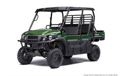 New 2016 Kawasaki MULE PRO-DXT EPS LE Diesel ATVs For Sale in Maryland. The MULE PRO-DXT side x side packs incomparable strength and endless durability backed by over a century of Kawasaki Heavy Industries, Ltd. engineering. For an innovative way to get the job done, the MULE PRO-DXT features a Trans Cab, allowing it to convert back and forth from three-passenger to six-passenger mode with ease. To top it off, the MULE PRO-DXT is backed confidently by the Kawasaki STRONG 3-Year Limited…