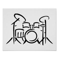 Trommel Tattoo, Key Tattoo Designs, Drums Logo, Drum Lessons For Kids, Drums Artwork, Jazz Painting, Drum Tattoo, Drum Music, Metal Drum