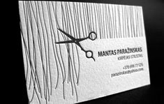 30 Cool Creative Business Card Design Ideas 2014 – Bashooka 30 coole kreative Visitenkarten-Design-Ideen 2014 – Bashooka Image by eFLYR Letterpress Business Cards, Unique Business Cards, Unique Cards, Makeup Business Cards, Salon Business Cards, Design Graphique, Art Graphique, Schönheitssalon Logo, Visiting Card Design