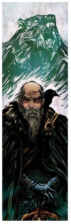 Old Bear Mormont by BGK-Bengiskhan.deviantart.com on @deviantART