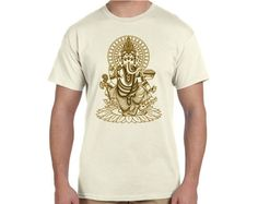 Ganesha Ganesh Buddhist Hindu Crew T-Shirt by TerraWear on Etsy
