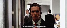 """HAHAHAHA!!!! The gym is always playing terrible music. 