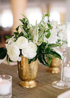 La Tavola Fine Linen Rental: Dupionique Iridescence Brass | Photographer: Annie McElwain, Venue, Cake, & Catering: Four Seasons Resort The Biltmore Santa Barbara, Planning: Nicole of Green Ribbon Parties, Florals: Brown Paper Design