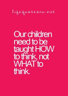 Which means learning to make their own decisions with confidence...