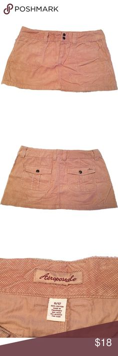 🔥$15 SALE🔥Aeropostale Corduroy Mini Skirt Super sexy brown corduroy skirt in great condition. Perfect for summer. Aeropostale Skirts Mini