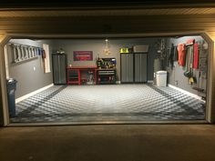 Customer Pic! Email us pictures of your garage and we might post them! #GarageFlooring