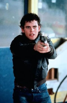 """Thomas Howell in """"The Hitcher"""" Robert Harmon) The Outsiders Ponyboy, The Outsiders 1983, King Kong, The Hitcher, Image Film, Z Cam, Just Beautiful Men, Tommy Boy, Big Sean"""