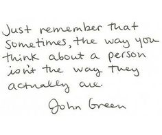 John Green.