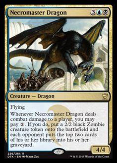 Necromaster-Dragon-x4-Magic-the-Gathering-4x-Dragons-of-Tarkir-mtg-card-lot