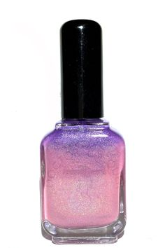 MYSTERIOUS LOVE is a warm-sensitive purple (cold) to pink (warm) thermal linear holographic polish.  *** Warm-sensitive thermals in this collection have more drastic color change, while the cold-sensitive ones are more gradual.   Bottle shots may appear slightly different from actual due to ...