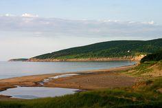 Inverness Beach Village, Cape Breton Nova Scotia. By far my favorite beach on the entire island.