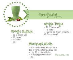 Greenberry Shakeology Recipes