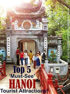 Hanoi sightseeing | Top 5 'Must-See' Tourist Hanoi Attractions!! Click the pic to read more