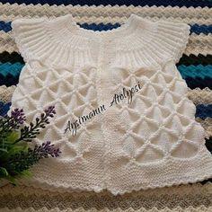 El Yapımı Bebek Yeleği #crochet #knit #knitting #skirt