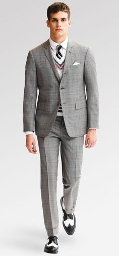 Thom Browne men in suits - Google Search