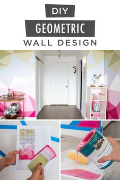Ready to add a burst of modern inspiration to the interior design of your home? Start with this DIY painted accent wall from the team at Little Miss Party. They used the BEHR® 2020 Color of the Year—Back to Nature—along with BEHR PREMIUM PLUS® Interior Paint in a selection of pink, purple, green, and blue hues to create this vivid color palette. Click below for the full tutorial to learn more.