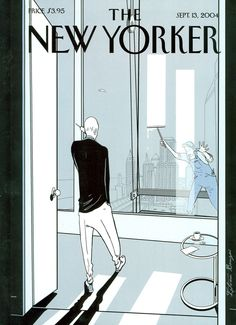 Here is a slide show of some of The New Yorker's covers, reflections of the changed urban, political, and cultural landscape that the event left … The New Yorker, New Yorker Covers, Capas New Yorker, Time Magazine, Magazine Covers, Magazine Art, Ligne Claire, Comic Styles, Illustrations And Posters