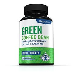 Premium Pure Blend - Green Coffee Bean Extract, Raspberry Ketones Complex, Garcinia Cambogia, & Green Tea - Highest Grade, Physician Recommended - 4 Top Weight Loss Ingredients in One Supplement *** Want to know more, click on the image.