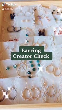 Diy Jewelry Rings, Diy Jewelry Unique, Wire Jewelry Designs, Handmade Wire Jewelry, Diy Crafts Jewelry, Bead Jewellery, Handmade Accessories, Handmade Bracelets, Homemade Jewelry