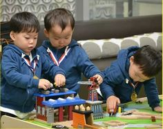Manse Minguk and Daehan ❤playing together