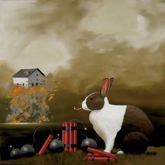 Bad Hare Day by Robert Deyber