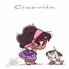 Esmeralda (le bossu de Notre Dame )