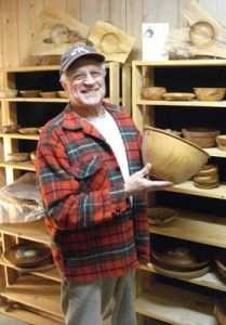 Norman Hefke, of Michigan's Upper Peninsula, creates bowls and other wood products of various sizes. All products are made of hardwoods indigenous to the U.P.