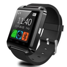 Pandaoo U8 Bluetooth Smart Watch for Android Smartphones - Black >>> More info could be found at the image url.