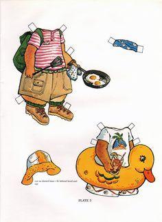 Las Recortables de Veva e Isabel: Recortables de Animales.Peter Rabbit Paper Dolls.