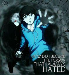 Anime and Manga Fandom Tokyo Ghoul Quotes, Ken Tokyo Ghoul, Sad Anime Quotes, Manga Quotes, Anime Depression, Otaku, Tokyo Ghoul Wallpapers, Anime Life, Dark Anime