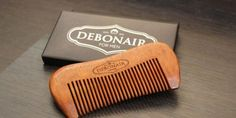 Review of Debonair for Men Handcrafted Sandalwood Comb #Beard #Comb #Review #reviews #product #grooming #maintenance #satonmybutt