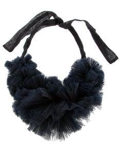 Kapow Wow (Mia Morikawa) - Tulle Ruffle Collar - - http://www.kapowwowobjects.com/