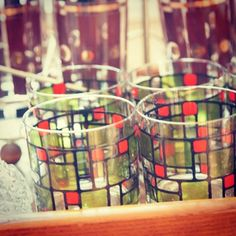 Sexy Mid Century Glassware #jillsmidcentury30th