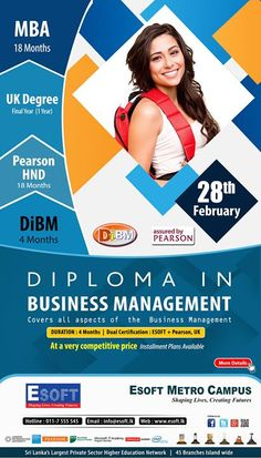 Diploma in Business Management with Dual Certification  Diploma in Business Management with Dual Certification