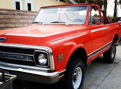 This IS my hubby's '69 Blazer