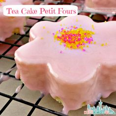 Baby To Boomer LifestylePound Cake Petit Fours - Easy Daisy Tea Cakes