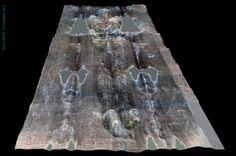 Dorsal image, Shroud of Turin, 3D Castex images