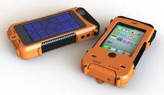 Snow Lizard's Solar-powered-waterproof iPhone case on UpdateorDie.com