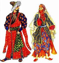 Турецкие костюмы национальные
