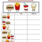This worksheet will help students decide how much change to hand a cashier by teaching the dollar up method.