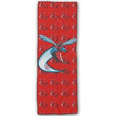 Delaware State Hornets Logo Yoga Mat Towel -- To view further for this item, visit the image link.  This link participates in Amazon Service LLC Associates Program, a program designed to let participant earn advertising fees by advertising and linking to Amazon.com.